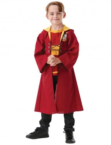 Offizielles Quidditch-Kostüm für Kinder Harry Potter™ rot-gelb