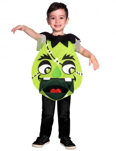Niedliche Monster-Tunika für Kinder Halloween-Kostüm grün