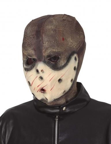 Hockey-Serienmörder Halloween-Maske für Erwachsene bunt