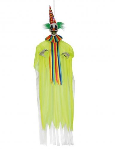 Clown-Figur zum Aufhängen gelb 153 cm