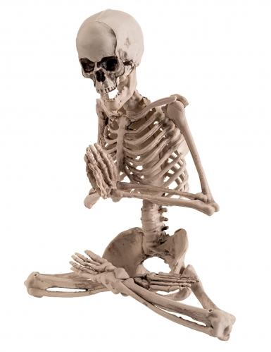 Yoga-Skelett Halloween-Figur 18 cm