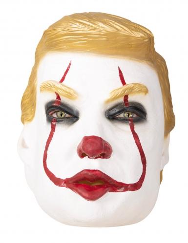Trumpf-Clown-Maske für Erwachsene Halloween