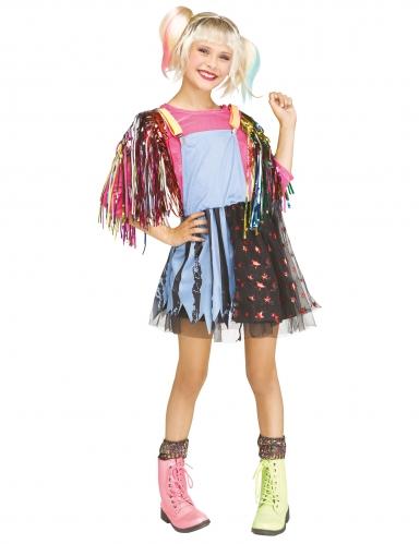 Kostüm für Mädchen böses Mädchen auf Rollerblades Rollschuhe