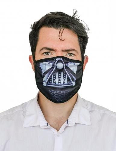 Mund-Nasen-Maske dunkler Herrscher Halloween-Behelfsmaske beige