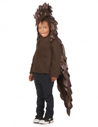 Schuppentier-Kinderkostüm Halloweenkostüm braun