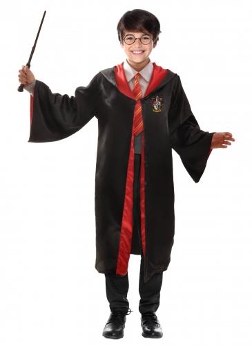 Harry-Potter™-Kostüm für Kinder schwarz-rot-gelb