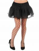Netzstrumpfhose Superloch Kostümzubehör schwarz