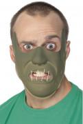 Kannibalen Halb-Maske oliv