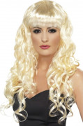 Schillerlocken Perücke Kostüm-Zubehör blond
