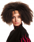 Havanna Perücke Afro braun