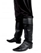 Überzieh-Stiefelstulpen für Erwachsene schwarz