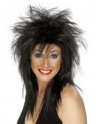 Rock Diva Perücke schwarz