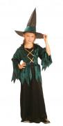 Kleine Fee Hexe Kinder-Kostüm pink-schwarz