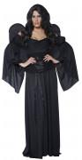 Gothic Manor Friedhof Engel Damen-Kostüm schwarz