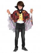 Vampir Halloween Kinderkostüm Umhang schwarz-rot-gelb