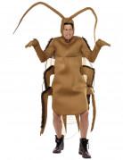 Dicke Kakerlake Insektenkostüm braun