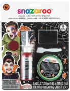 Snazaroo Special effects-Wunden-Set für Halloween Make-up Zubehör 5-teilig schwarz-rot