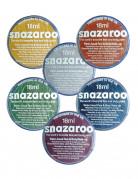 Snazaroo Metallic Schminke Make-Up Zubehör 6 versch. Farben zum Auswählen 18 ml Dose