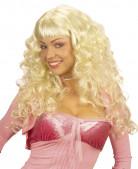 Traumfrau Perücke blond