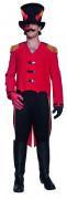 Cirque Sinister Teuflischer Zirkusdirektor Anführer Kostüm schwarz-rot