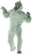 Monster Biest Werwolf Kostüm grau