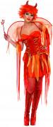 Satans Braut Teufel Damen-Kostüm rot