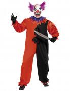 Cirque Sinister Teuflischer Zirkus Clown Kostüm schwarz-rot-lila