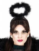 Heiligenschein Engel Kostümzubehör schwarz