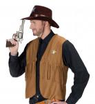 Cowboy Pistole 25cm silber