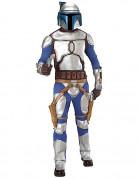 Star Wars™ Jango Fett Herrenkostüm Lizenzware silber-blau