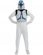 Star Wars™ Clone Trooper Kinderkostüm Lizenzware weiss-blau