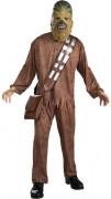 Star Wars™ Chewbacca™ Herrenkostüm Lizenzware braun
