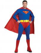 Superman™-Herrenkostüm in Übergröße Halloweenkostüm blau-rot-gelb