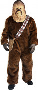 Star Wars™ Chewbacca Deluxe Herrenkostüm Lizenzware braun