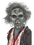 Zombie Maske Vollmaske grau