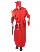 Satanischer Teufel Halloween Kostüm für Herren rot