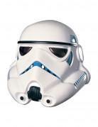 Stormtrooper™ Maske für Erwachsene weiss-schwarz-blau