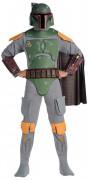 Galaktisches Boba Fett Star Wars™-Kostüm grau-bunt