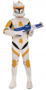 Clone Trooper™ Cody Kinderkostüm Star Wars™ weiss-gelb