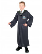 Harry Potter™-Zaubererkostüm für Kinder Slytherin schwarz