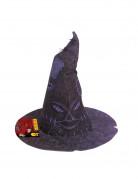Der sprechende Hut Lizenzartikel von Harry Potter™ violett 35 x 38 cm