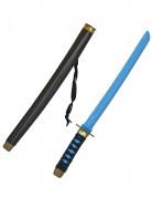 Ninja-Schwert Spielzeug-Katana schwarz-blau