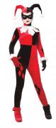 Harley Quinn™-Damenkostüm Suicide Squad™ rot-schwarz