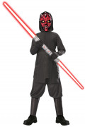 Star Wars™ Darth Maul Kinderkostüm Lizenzware grau