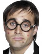 Intelektuellen-Brille für Erwachsene schwarz