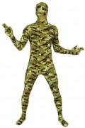 Morphsuit Tarnfarben Soldat camouflage