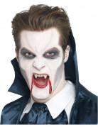 Grabstein Vampir Aufsteckzähne weiss