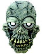 Erschöpftes Skelett Lustige Halloweenmaske grün-schwarz