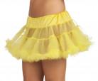 Petticoat Tutu Unterrock gelb
