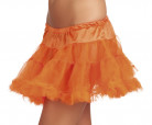 Petticoat Kostüm-Zubehör orange